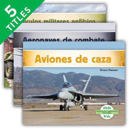 Cover: Vehículos y aeronaves militares (Military Aircraft & Vehicles)