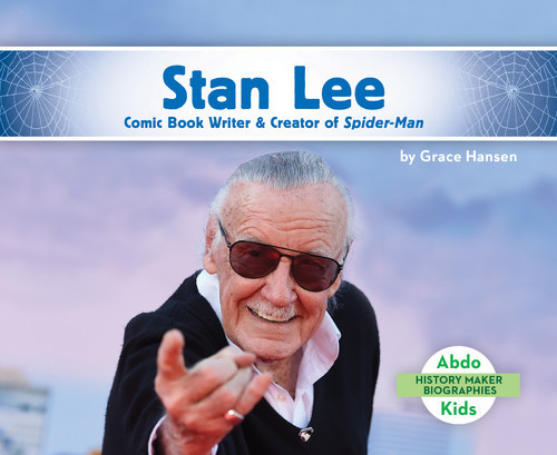 Cover: Stan Lee: Comic Book Writer & Creator of Spider-Man