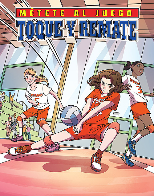 Cover: Toque y remate (Set and Spike)