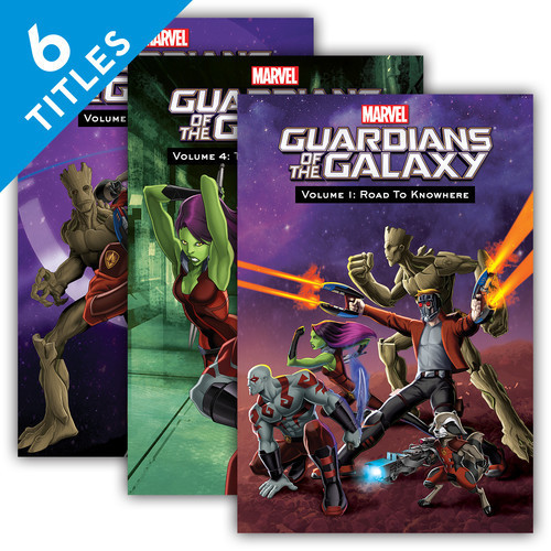 Cover: Guardians of the Galaxy Set 2