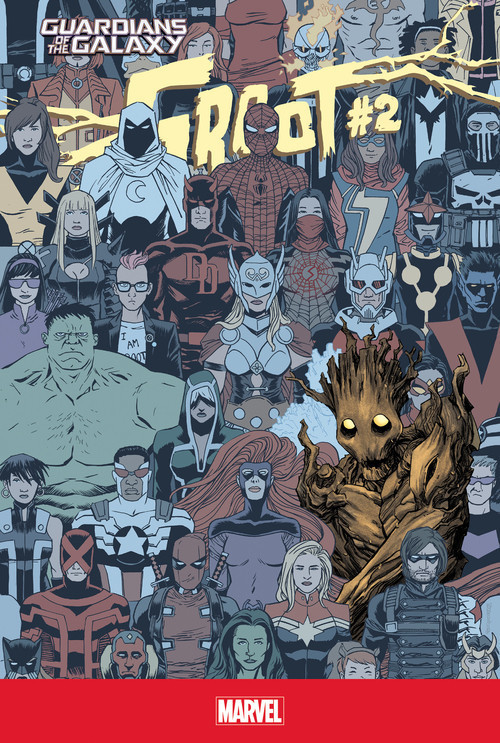 Cover: Groot #2