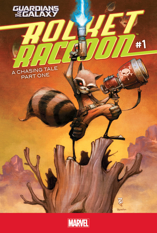 Cover: Rocket Raccoon #1: A Chasing Tale Part One