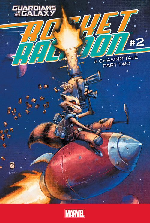 Cover: Rocket Raccoon #2: A Chasing Tale Part Two