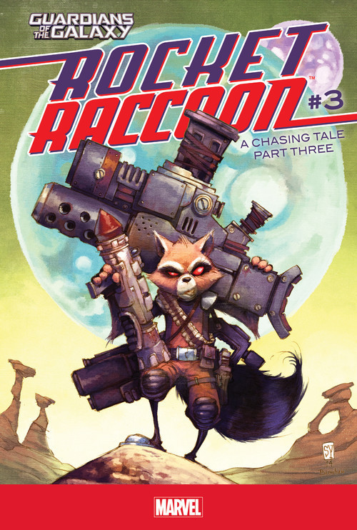 Cover: Rocket Raccoon #3: A Chasing Tale Part Three