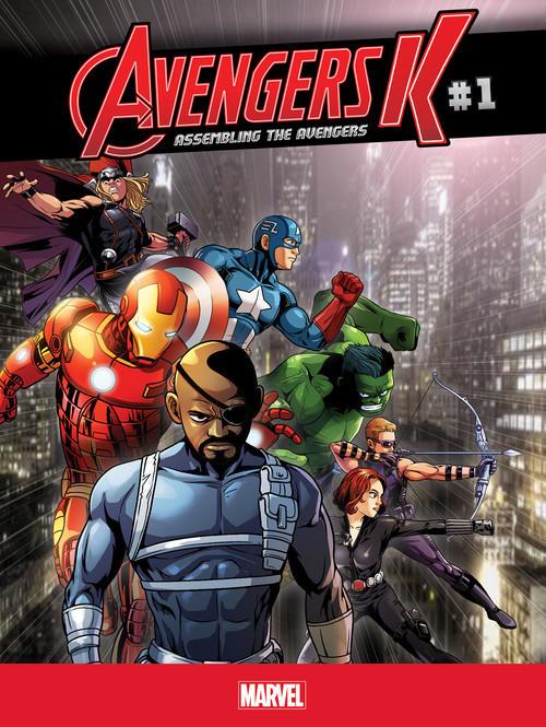 Cover: Assembling the Avengers #1