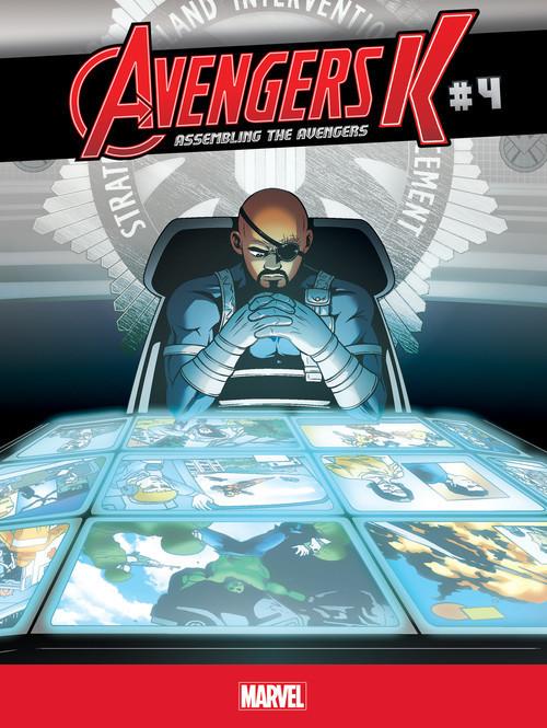 Cover: Assembling the Avengers #4