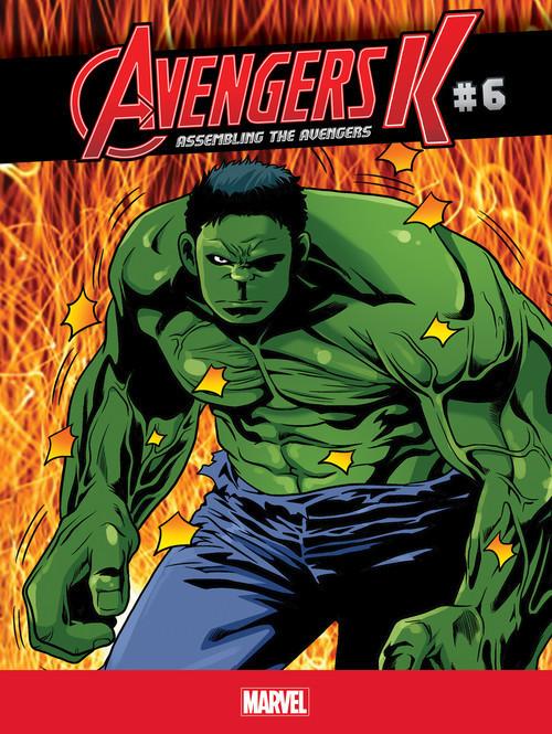 Cover: Assembling the Avengers #6