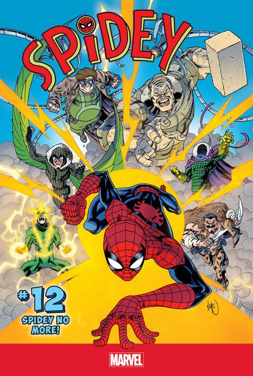 Cover: Spidey #12: Spidey No More!