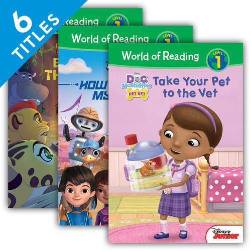 Cover: World of Reading Level 1 Set 4