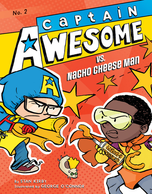 Cover: Captain Awesome vs. Nacho Cheese Man: #2