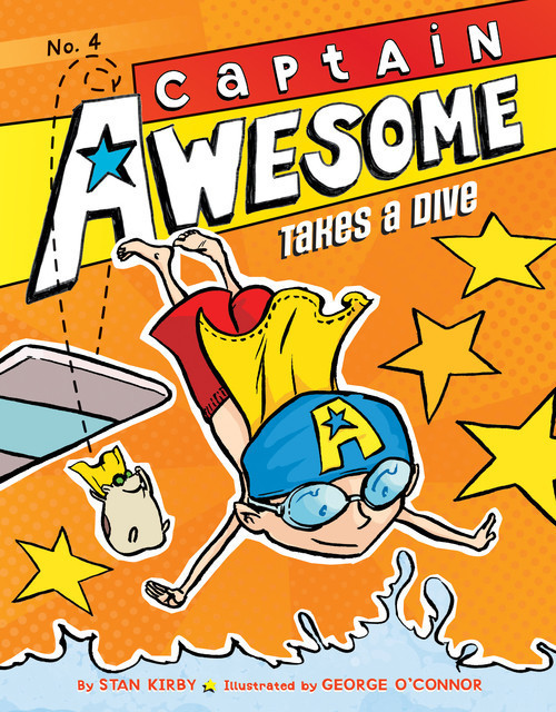 Cover: Captain Awesome Takes a Dive: #4