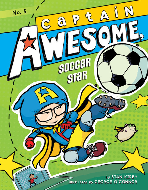 Cover: Captain Awesome, Soccer Star: #5