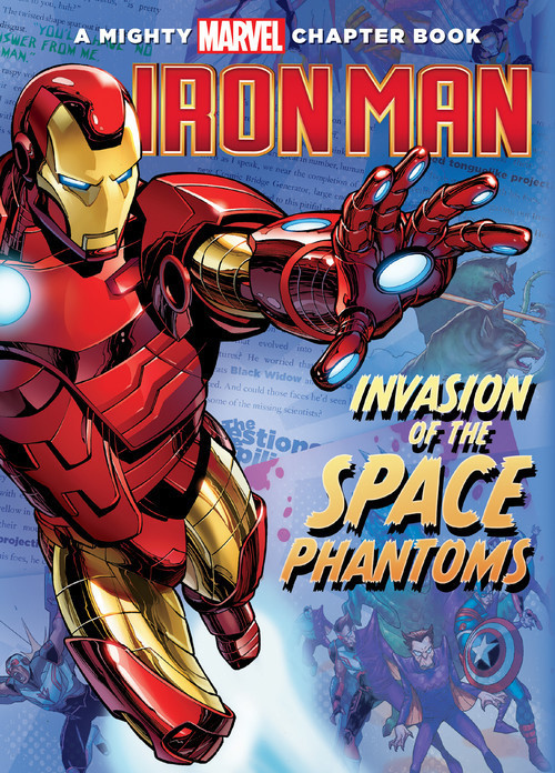 Cover: Iron Man: Invasion of the Space Phantoms