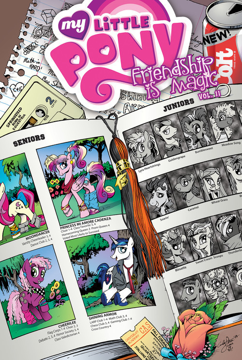 Cover: My Little Pony: Friendship is Magic: Vol. 11