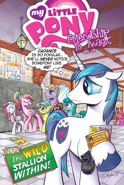 Cover: My Little Pony: Friendship is Magic: Vol. 12