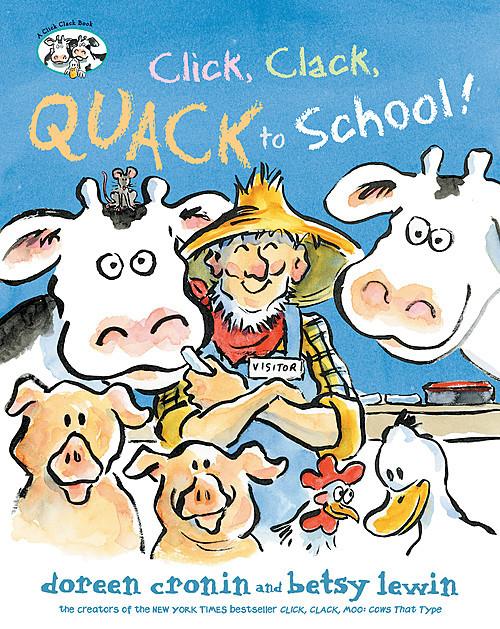 Cover: Click, Clack, Quack to School!