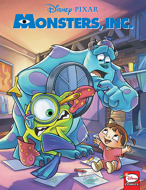 Cover: Monsters, Inc.