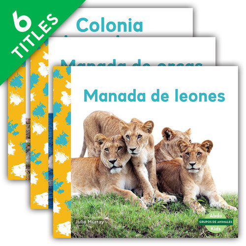 Cover: Grupos de animales (Animal Groups)