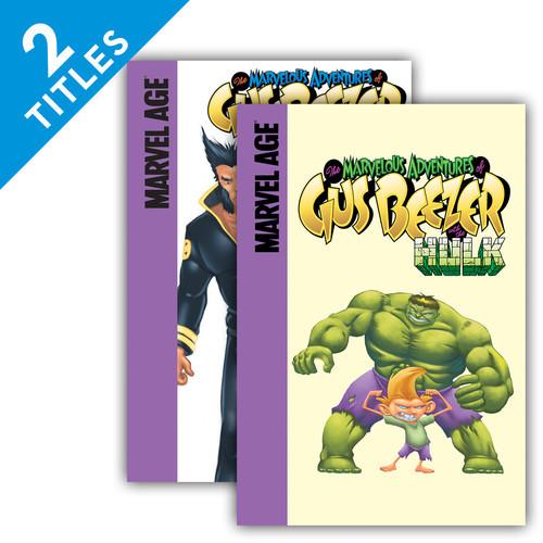 Cover: Marvelous Adventures of Gus Beezer
