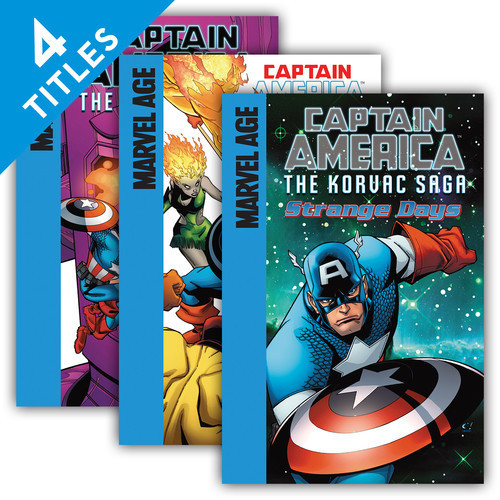 Cover: Captain America: The Korvac Saga