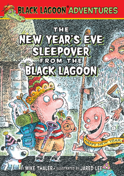 Cover: New Year's Eve Sleepover from the Black Lagoon
