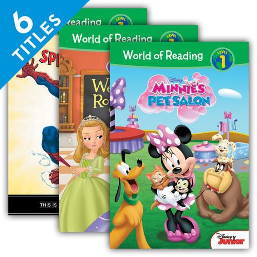 Cover: World of Reading Level 1 Set 1