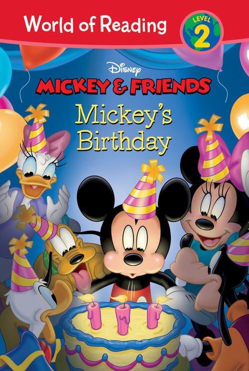 Cover: Mickey & Friends: Mickey's Birthday