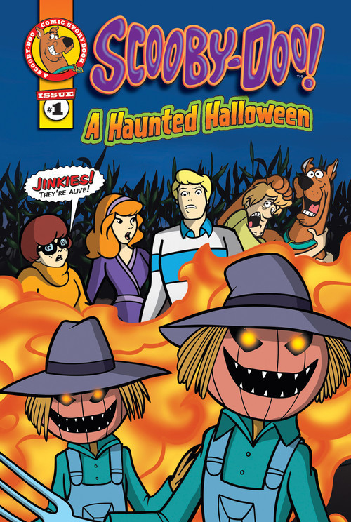 Cover: Scooby-Doo Comic Storybook #1: A Haunted Halloween