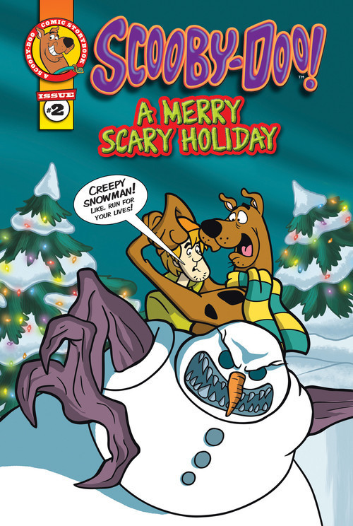 Cover: Scooby-Doo Comic Storybook #2: A Merry Scary Holiday
