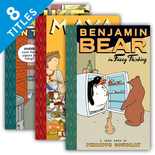 Cover: Toon Books Set 2