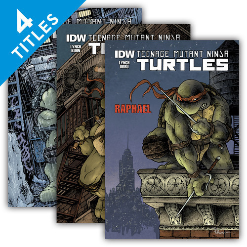 Cover: Teenage Mutant Ninja Turtles