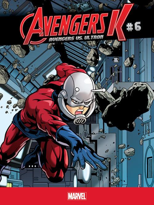 Cover: Avengers vs. Ultron #6