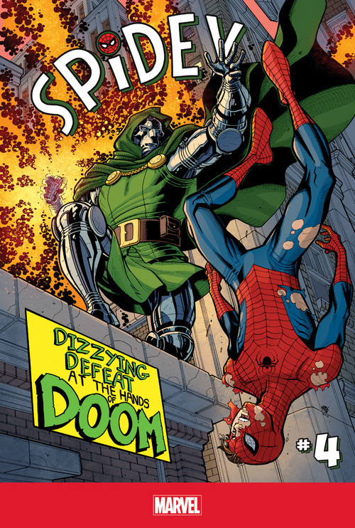 Cover: Spidey #4