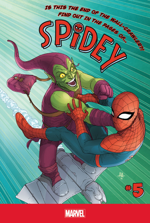 Cover: Spidey #5