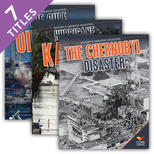 Cover: History's Greatest Disasters