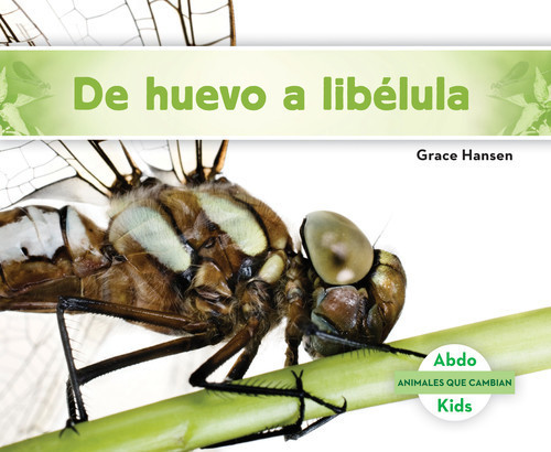 Cover: De huevo a libélula