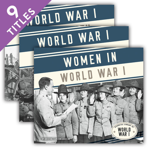 Cover: Essential Library of World War I