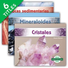 Cover: ¡Súper geología! Set 2 (Geology Rocks! Set 2)