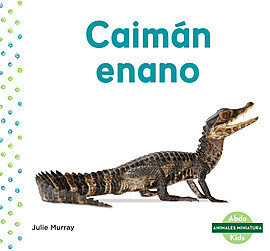 Cover: Caimán enano (Dwarf Caiman)