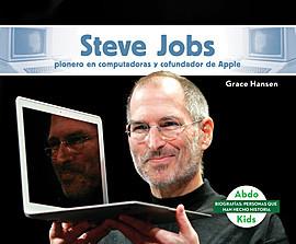 Cover: Steve Jobs: Pionero en computadoras y cofundador de Apple (Steve Jobs: Computer Pioneer & Co-Founder of Apple)