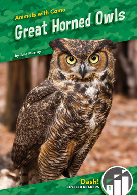 Cover: Great Horned Owls