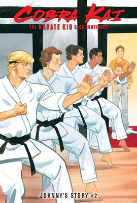 Cover: The Karate Kid Saga Continues: Johnny's Story #2