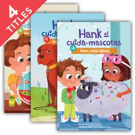 Cover: Hank el Cuida-Mascotas Set 1 (Hank the Pet Sitter Set 1)