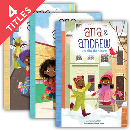 Cover: Ana & Andrew (Spanish Version)