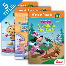 Cover: World of Reading Level Pre-1 Set 3