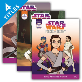 Cover: Star Wars: Forces of Destiny Chapter Books