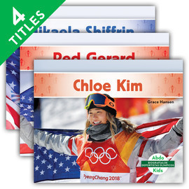 Cover: Biografías de deportistas olímpicos (Olympic Biographies Set 2)