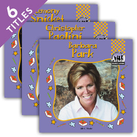 Cover: Children's Authors Set 4