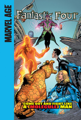 Cover: Come Out and Fight Like a (Molecule) Man