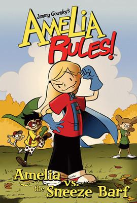 Cover: Amelia vs. the Sneeze Barf: #1